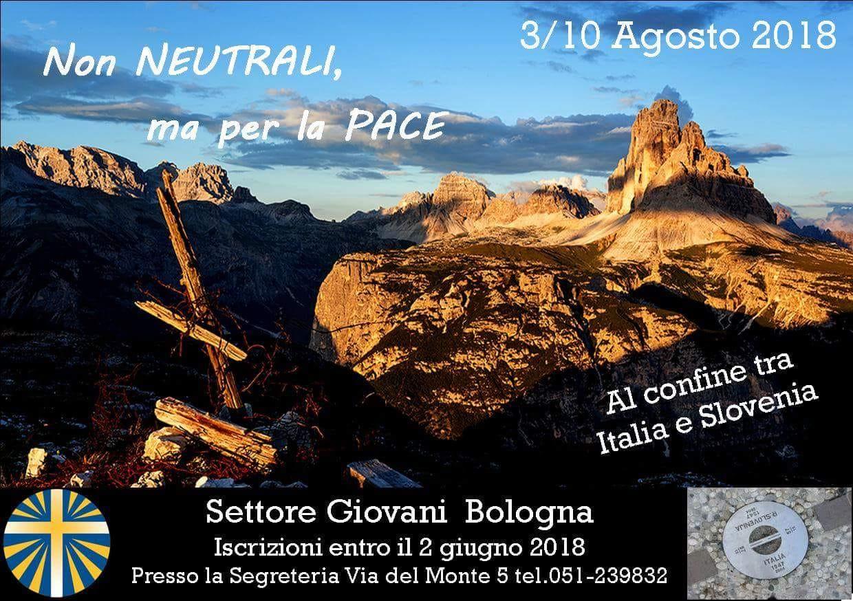 Campo Settore Giovani 2018 @ Tra Italia e Slovenia
