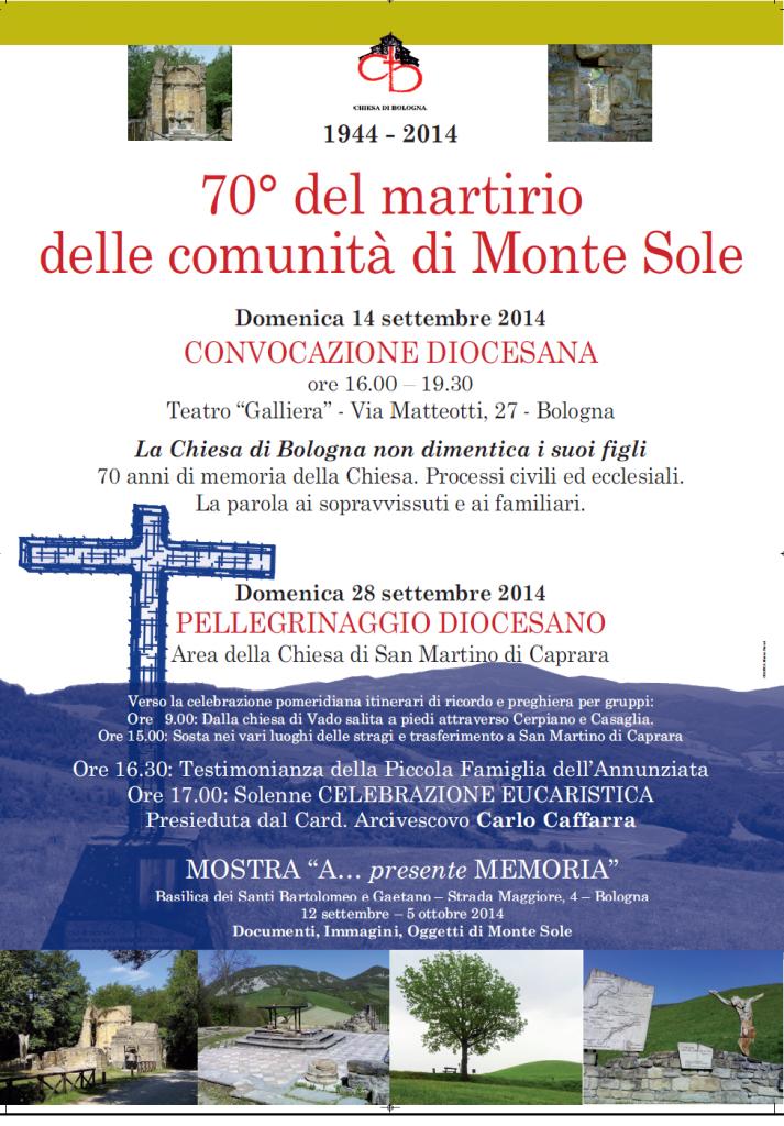 Manifesto Monte Sole