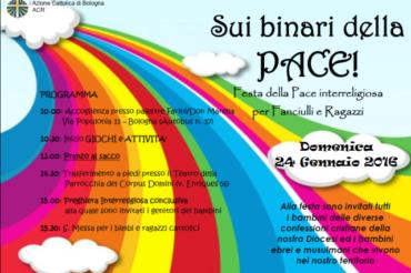 ACR: sui binari della pace una festa tra religioni