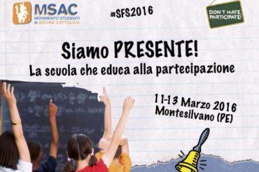 MSAC: torna la Scuola di Formazione Studenti