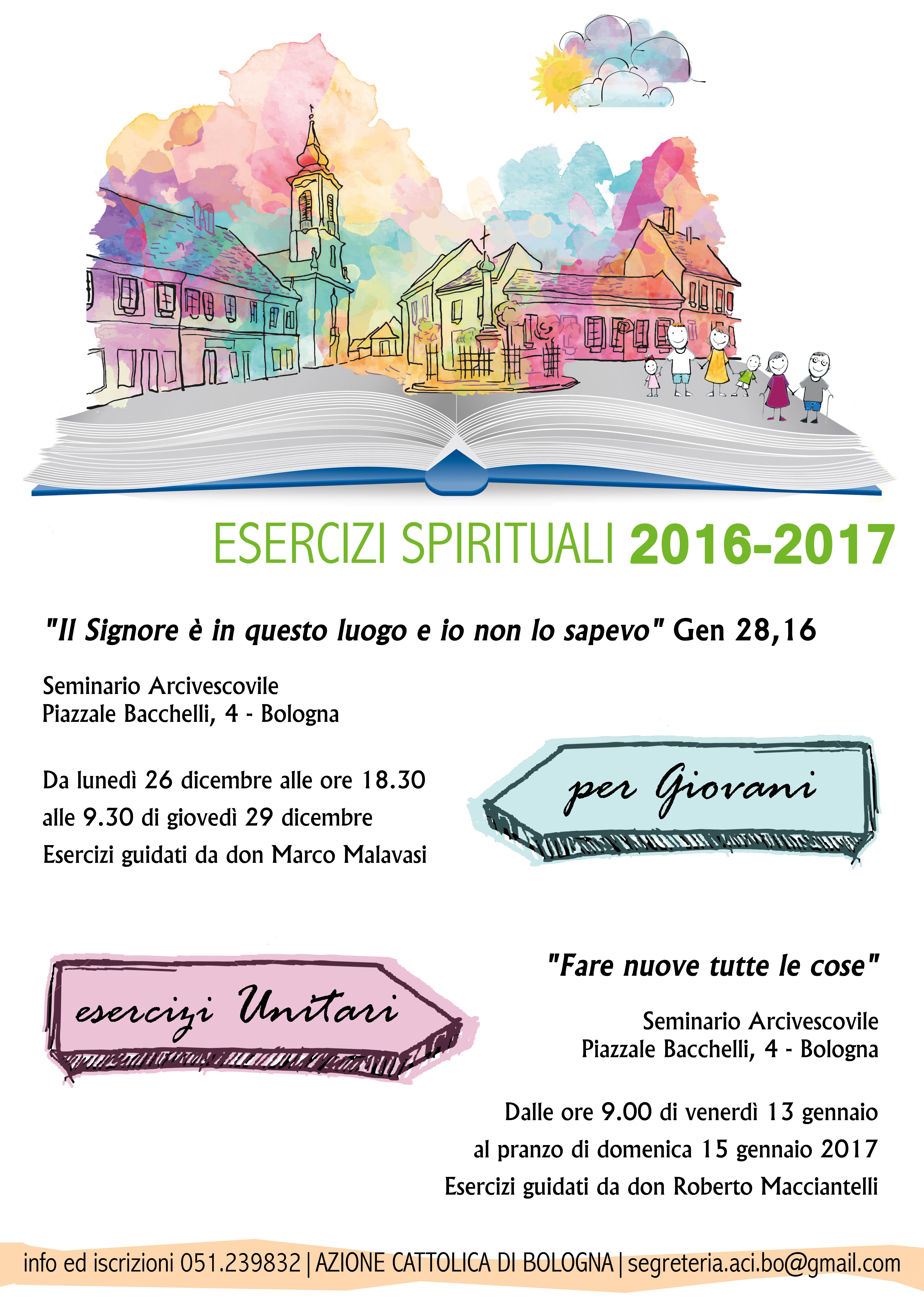 Esercizi spirituali giovani 2016 @ Seminario arcivescovile | Bologna | Emilia-Romagna | Italia