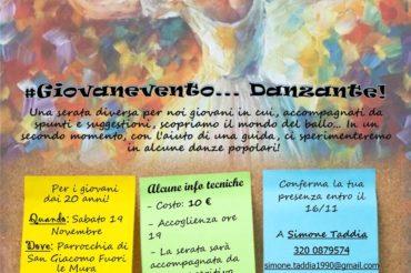 #GiovanEvento… Danzante!