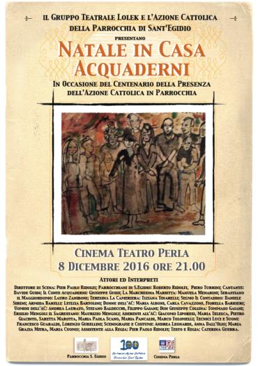 S.Egidio: spettacolo per il centenario