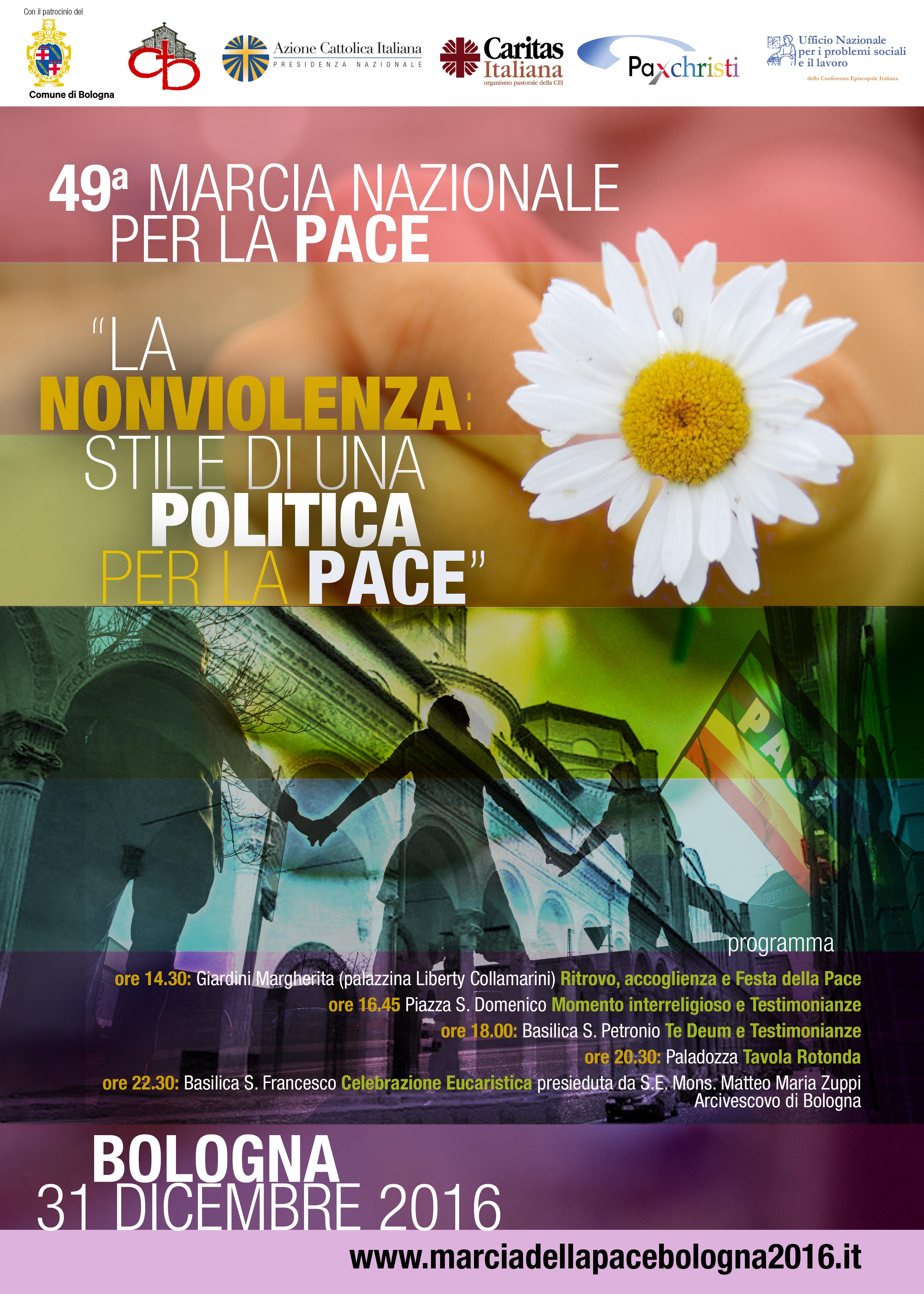 Marcia nazionale per la pace 2016 @ Bologna