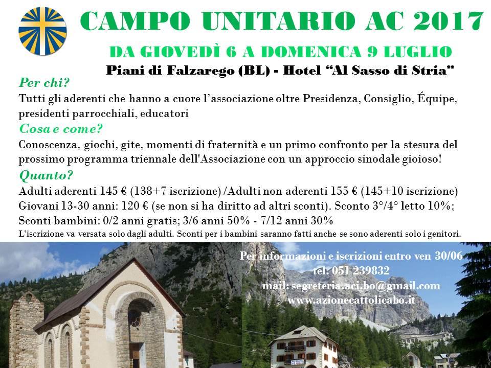 Campo unitario 2017 @ Falzarego - Hotel Sasso di Stria | Livinallongo del Col di Lana | Veneto | Italia