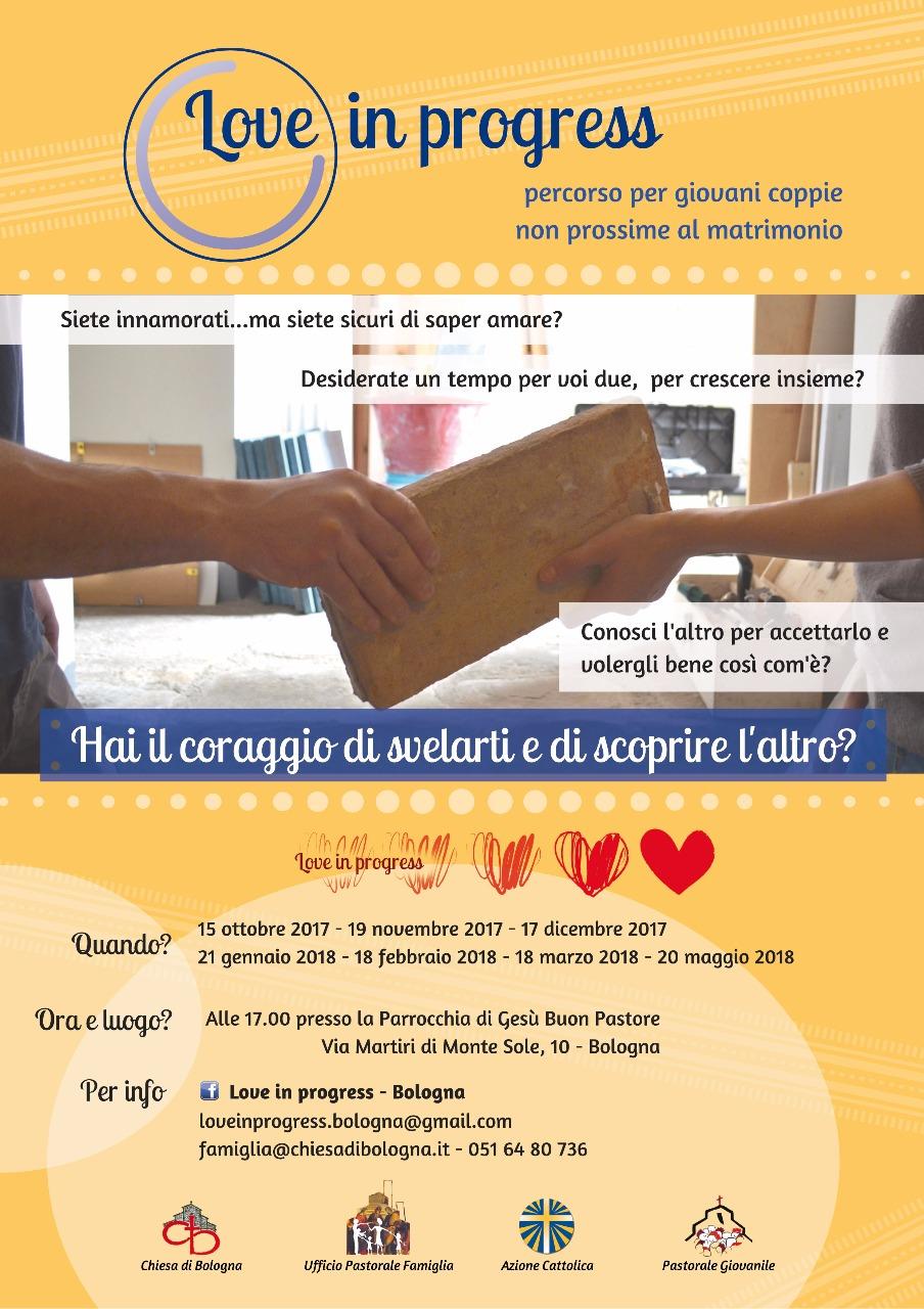 Love in progress @ Parrocchia di Gesù Buon Pastore  | Bologna | Emilia-Romagna | Italia