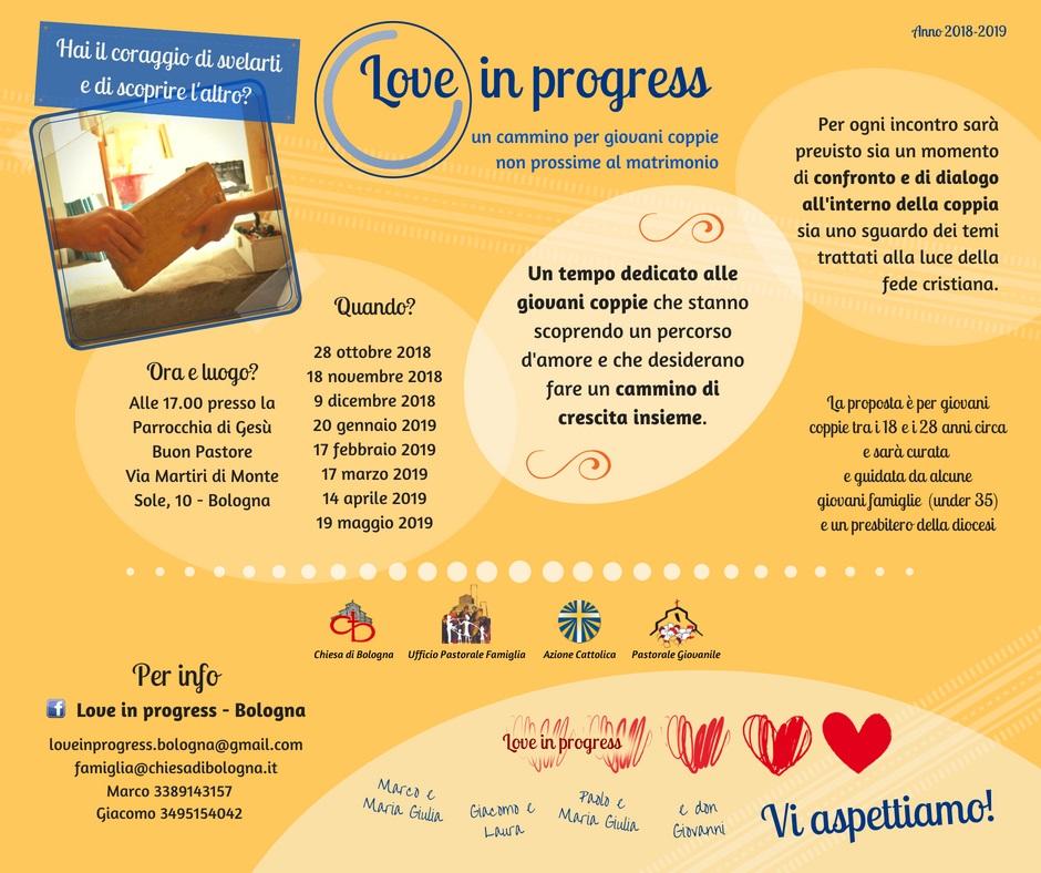 Love in Progress @ Parrocchia di Gesù Buon Pastore