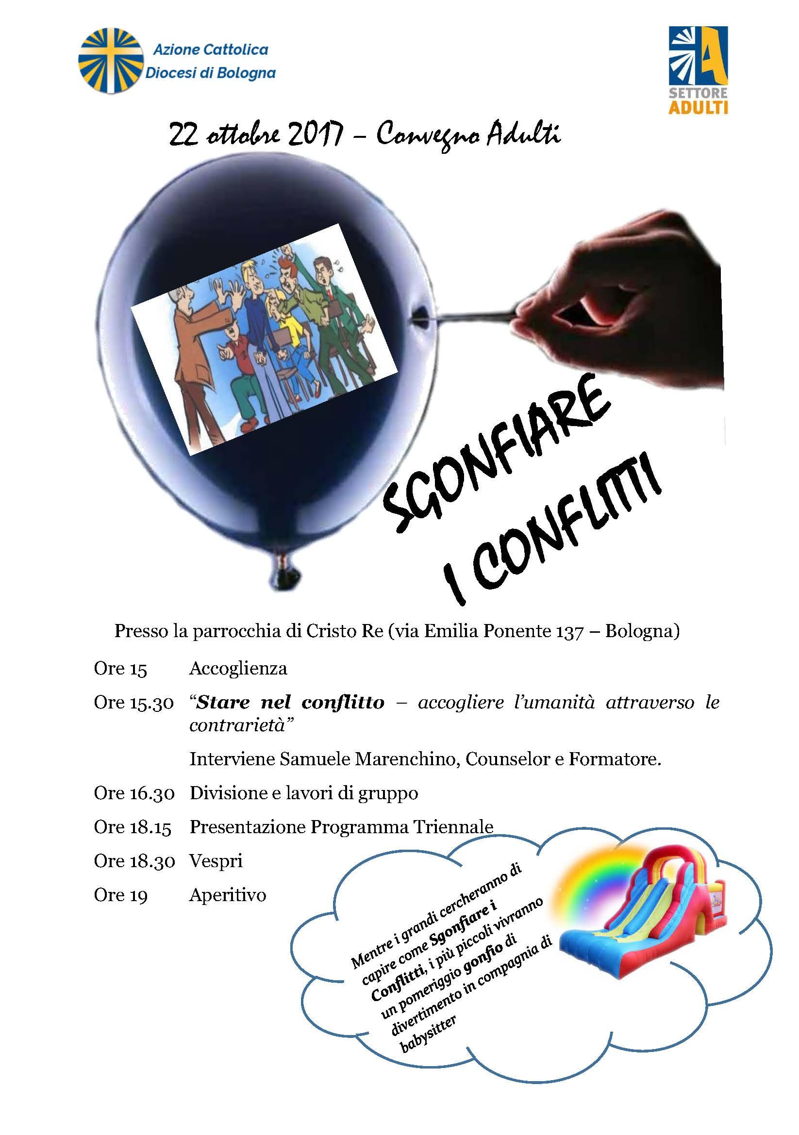Convegno Settore Adulti @ Parrocchia di Cristo Re | Bologna | Emilia-Romagna | Italia