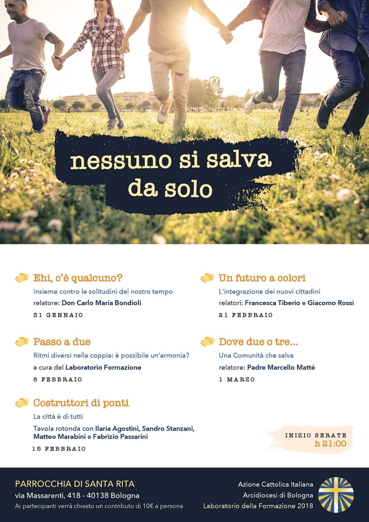 Laboratorio della Formazione @ Parrocchia di Santa Rita | Bologna | Emilia-Romagna | Italia