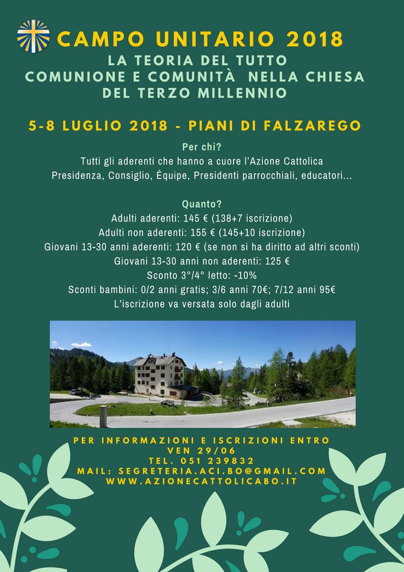 Campo unitario 2018 @ Falzarego | Livinallongo del Col di Lana | Veneto | Italia