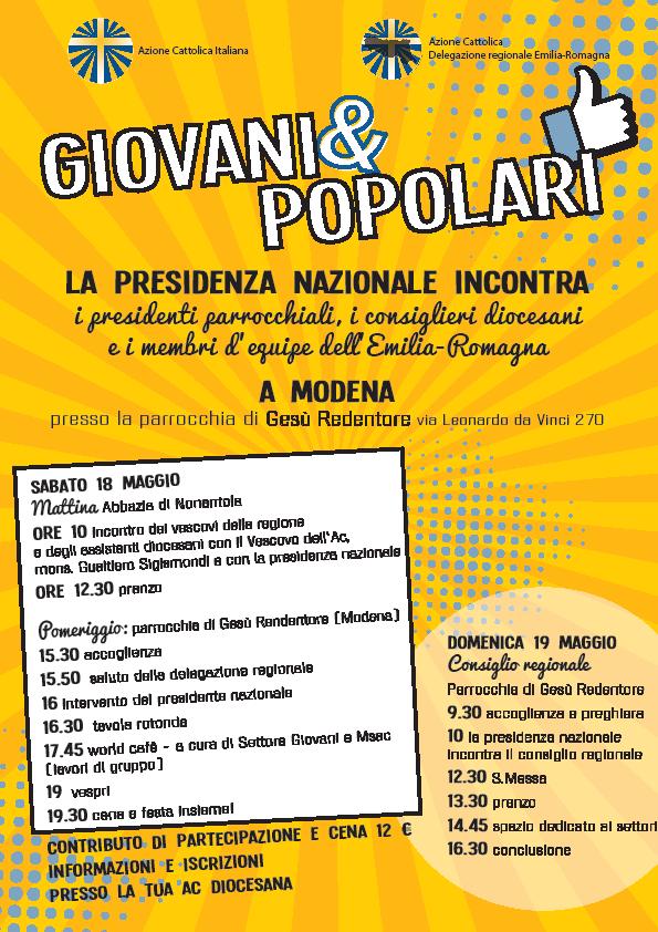 Visita della Presidenza Nazionale all'Emilia-Romagna @ Nonantola e Modena
