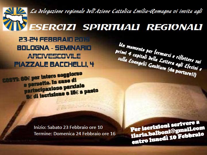 Esercizi spirituali regionali @ Seminario Arcivescovile
