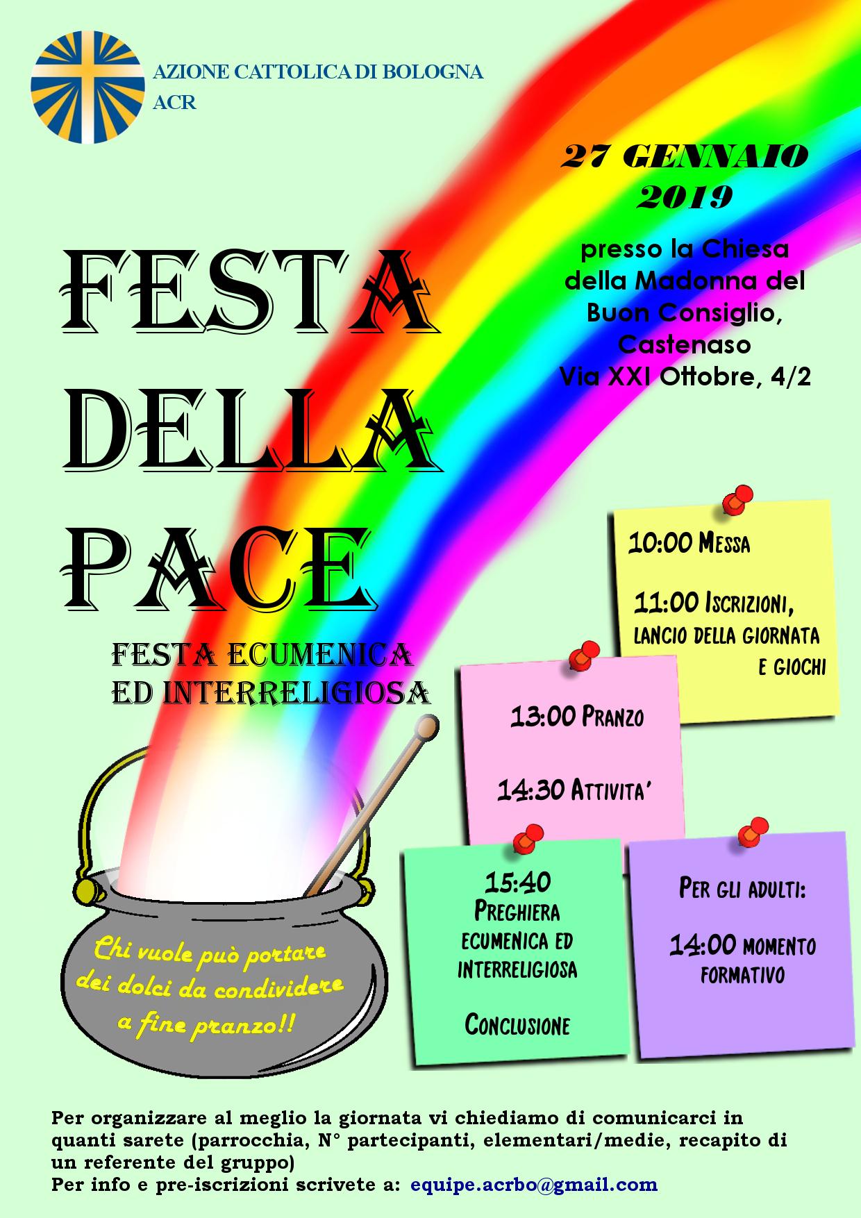 Festa della pace @ Parrocchia di Castenaso