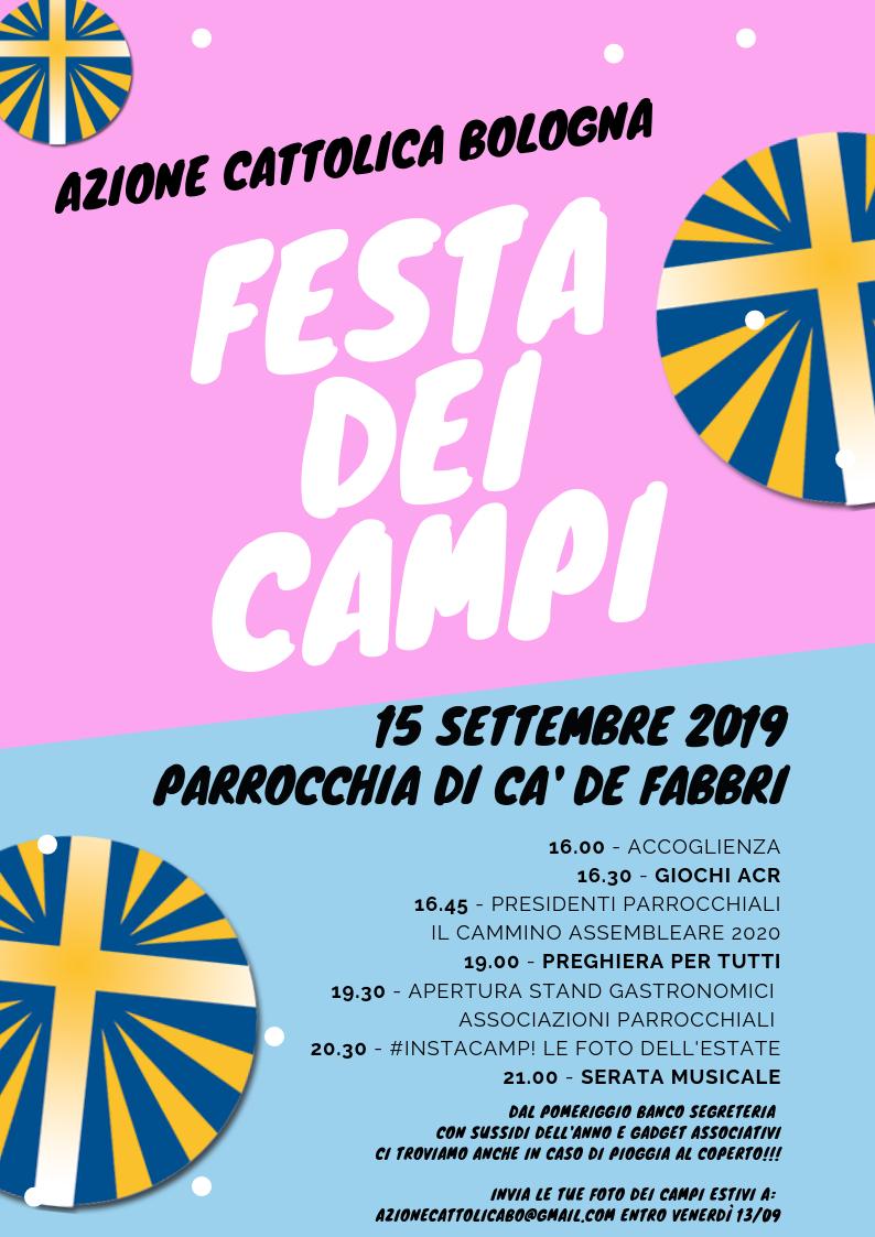 FESTA DEI CAMPI 2019 @ Parrocchia di Ca' de Fabbri