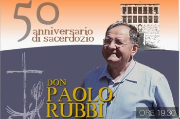50° di sacerdozio don Paolo Rubbi