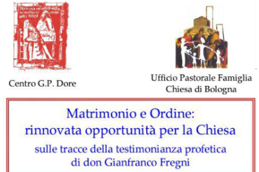 Matrimonio e ordine – convegno in ricordo di don Gianfranco Fregni