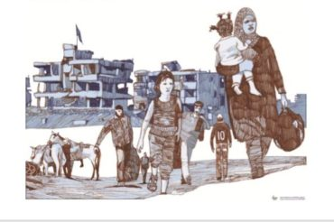 S.Andrea: mostra in fuga dalla Siria