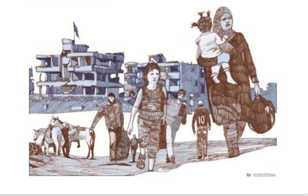 GiovanEvento: mostra in fuga dalla Siria @ parrocchia San'Andrea della Barca