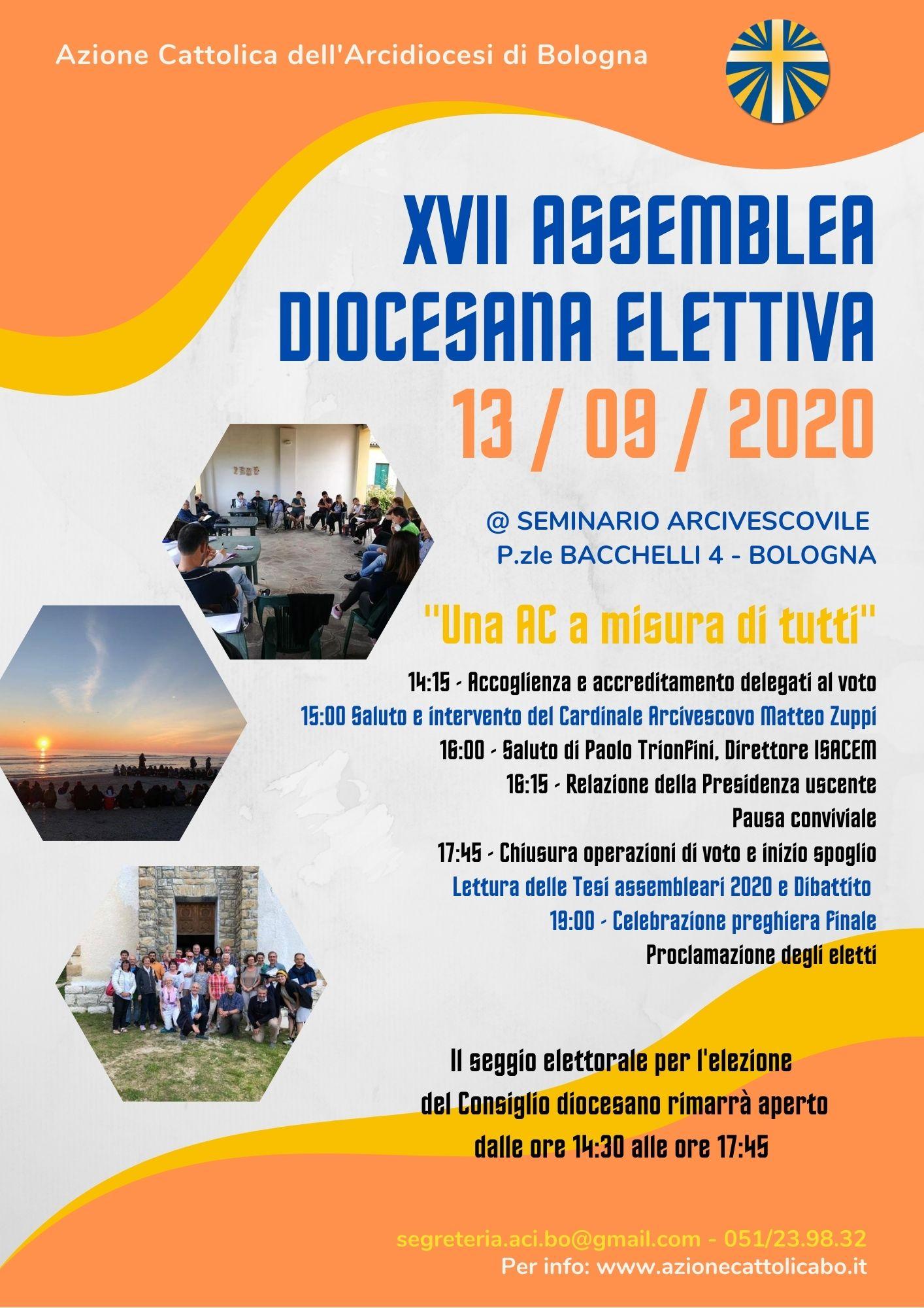 ASSEMBLEA DIOCESANA ELETTIVA @ @Seminario Arcivescovile di Bologna